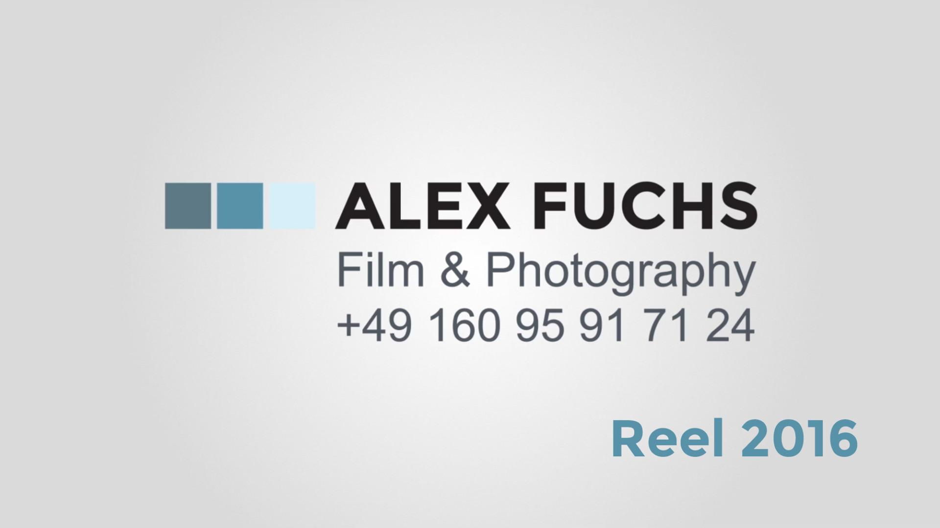 Alex Fuchs | Reel 2016